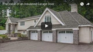 The Value Of An Insulated Garage Door