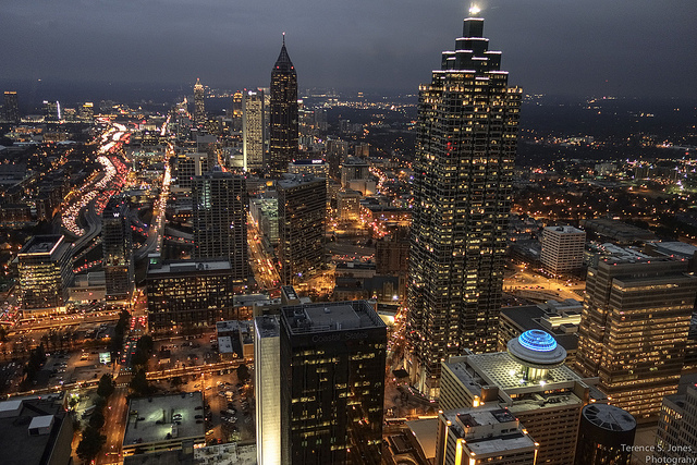 atlanta commercial landscape lighting