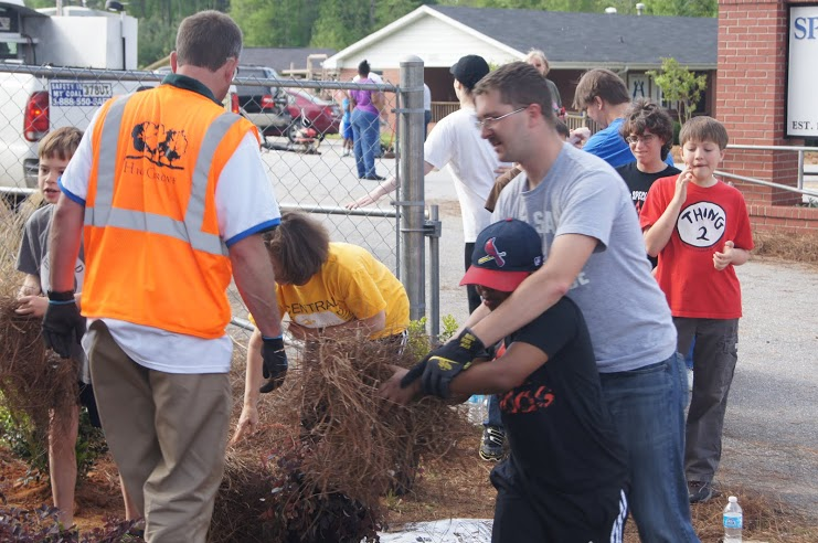 PLANET Day of Service recap - HighGrove