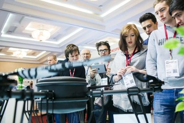 Drone Zone at TB Forum 2018