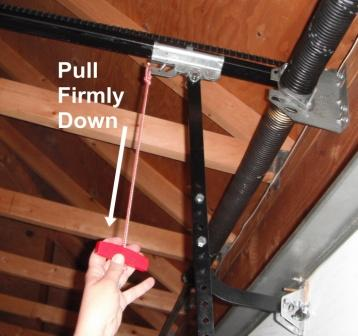 how to manually open a garage doorHelp My garage door only opens a couple of inches and stops