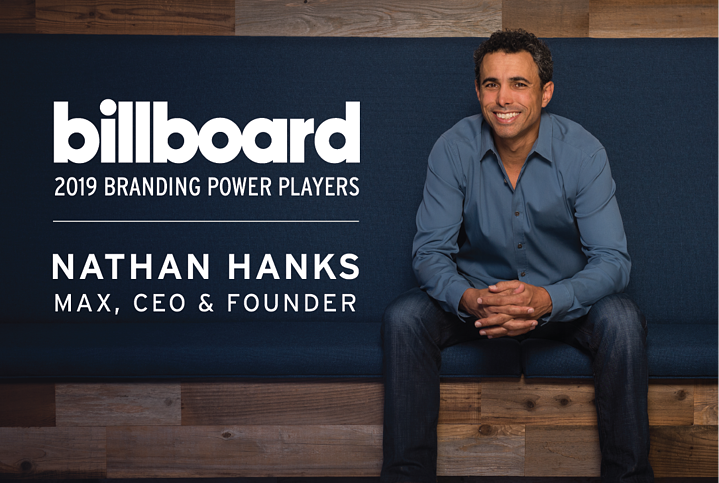 Nathan Hanks Named One Of Billboard's 2019 Power Players