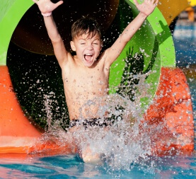 Enjoy Waterparks with Wristband
