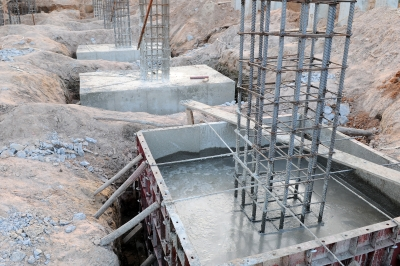 Types of foundations for steel buildings House foundations types