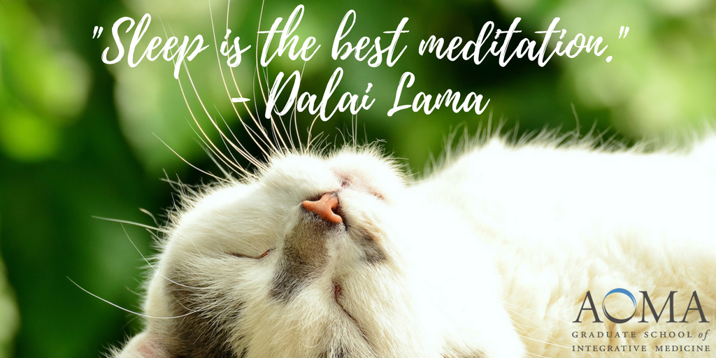 22Sleep is the best meditation22 - Dalai Lama.png