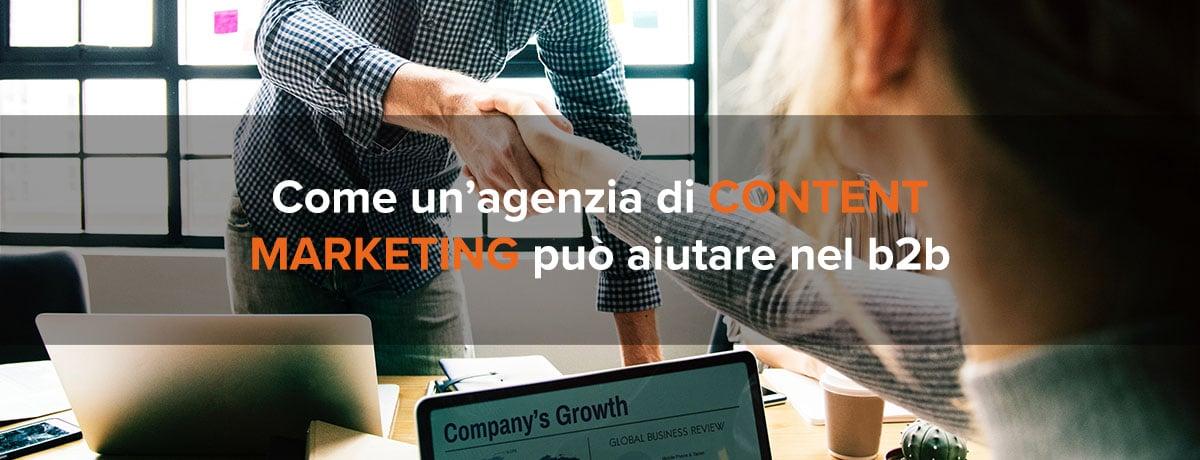 agenzia di content marketing