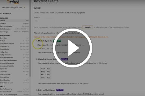 Backtester-Quickstart