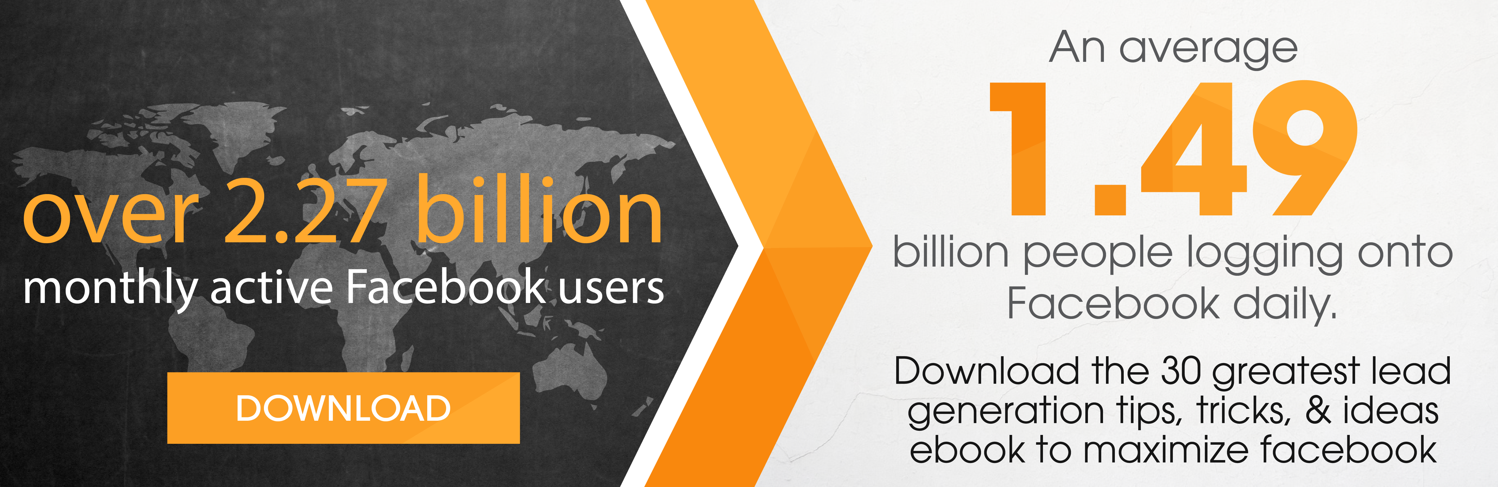 DOWNLOAD our eBook that includes Facebook lead generation
