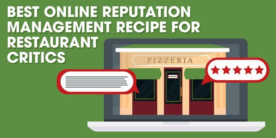 Online Reputation Management For Restaurants