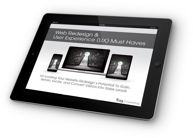 eBook on Web Redesign and UX