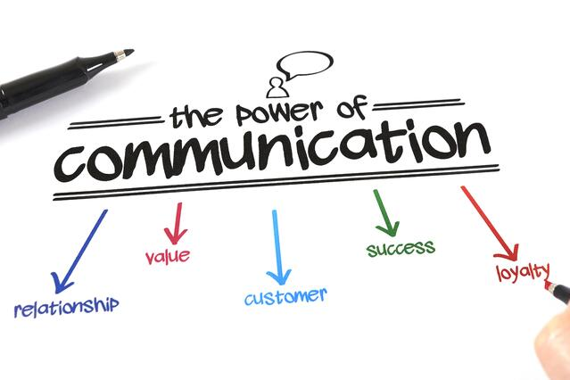the power of communication with your customers