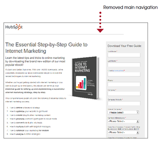 remove-navigation-on-landing-pages.png