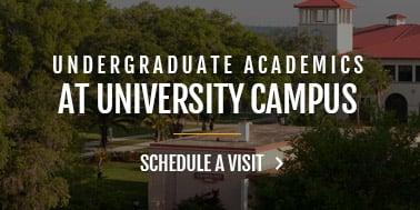 undergraduate academics - schedule a campus visit