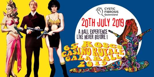 65 Roses Casino Royale Gala Ball 2015