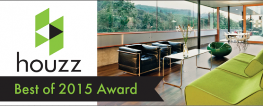 Creative Home Stagers of Charlotte NC Receives  Best Of Houzz 2015 Award