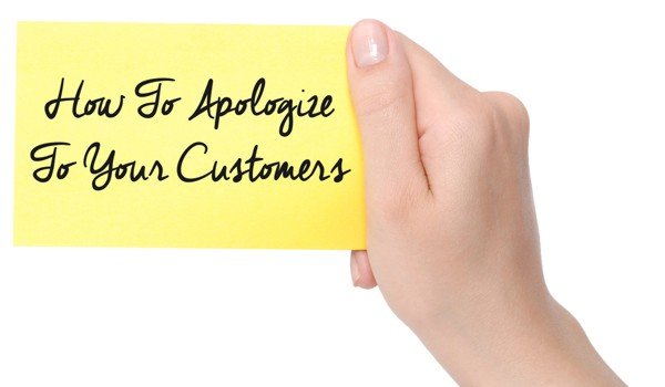 how to apologize to your customers