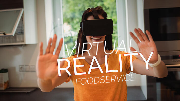augmented and virtual reality in foodservice
