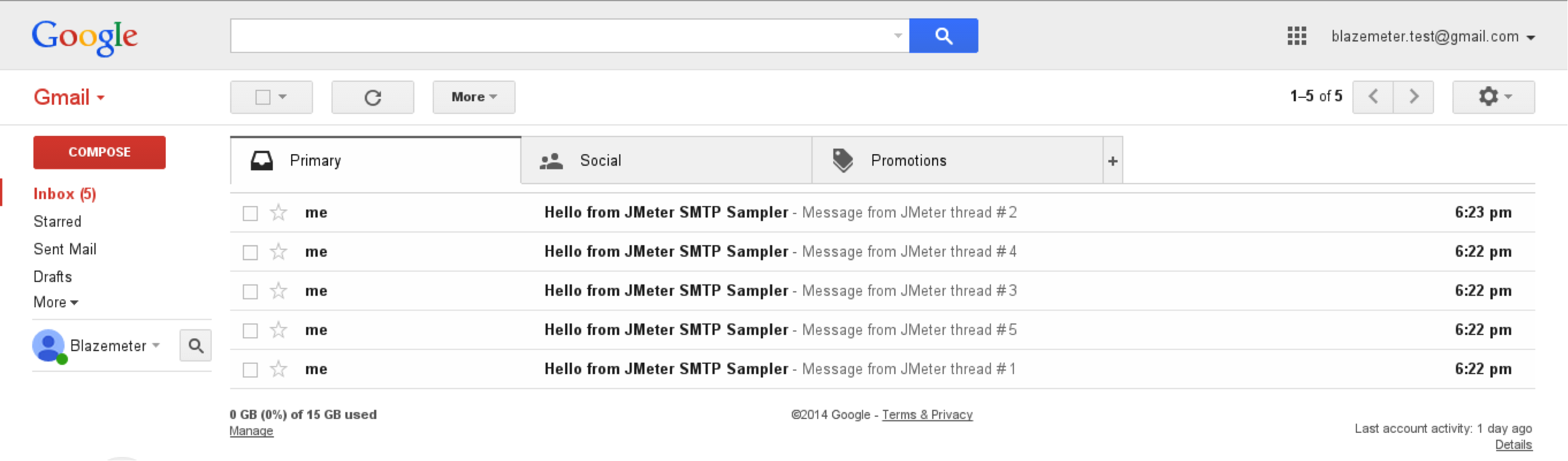 Reading Mails With JMeter