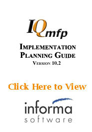 IQmfp Implementation Planning Guide v10.2