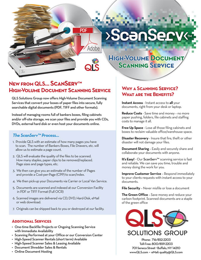 ScanServ™ Overview