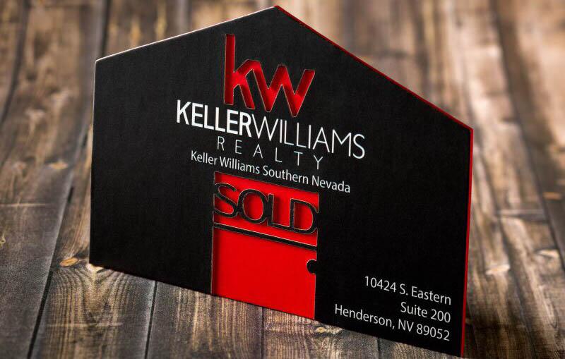 customer spotlight realtor business card