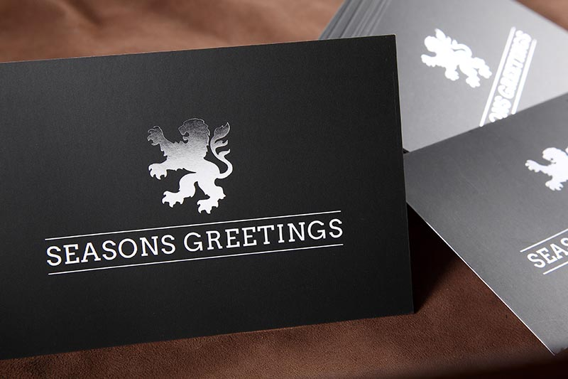 direct mail postcard with foil printing