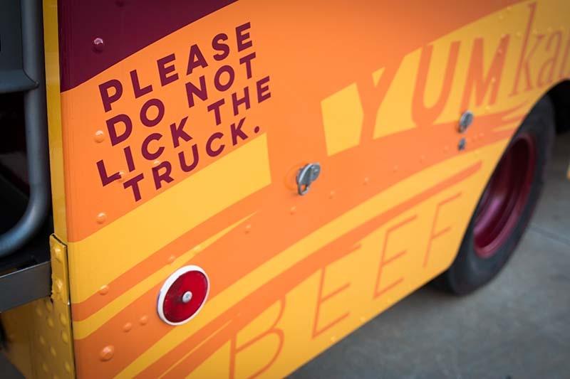 ZaTaR Truck - Please do not lick the truck