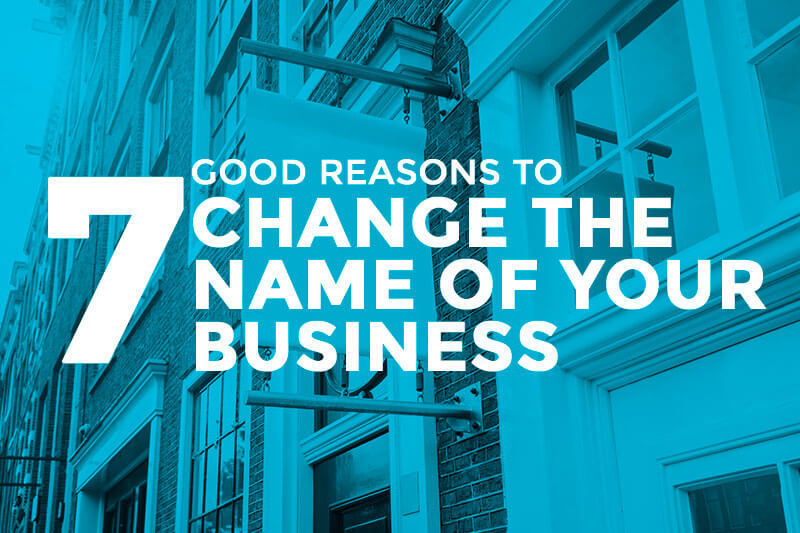 change your business name