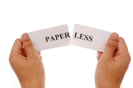 going paperless research paper The legal profession is heavy on reading, writing and research  the effort to go  paperless -- or at least to use less paper -- offers a number of potential benefits.