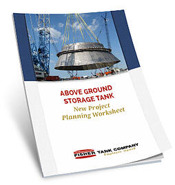 new storage tank project planning worksheet fisher tank company