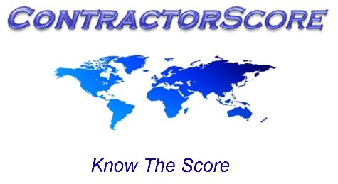 ContractorScore, contractor qualification