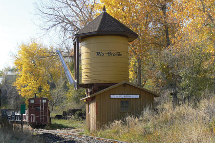 Old Train Depot And Water Tank 118