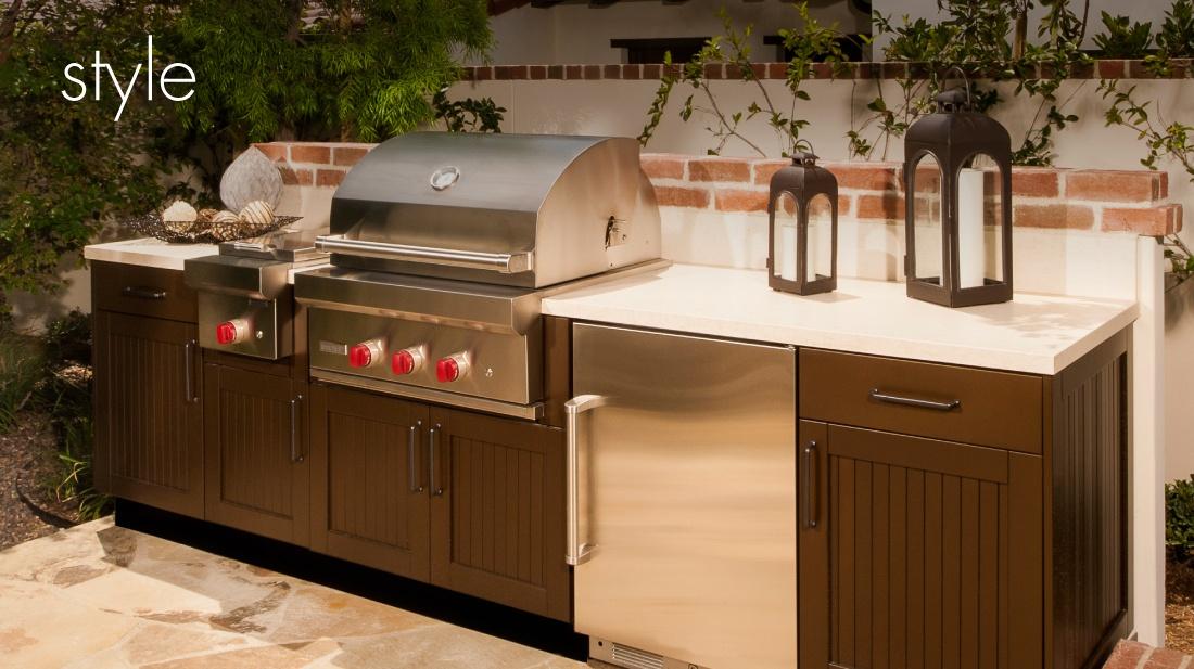 Brown Jordan outdoor kitchen