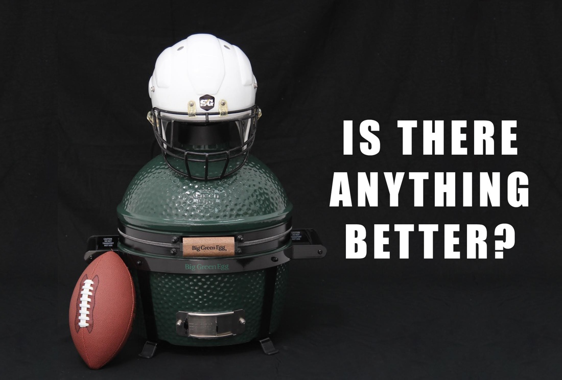 Big Green Egg for tailgating