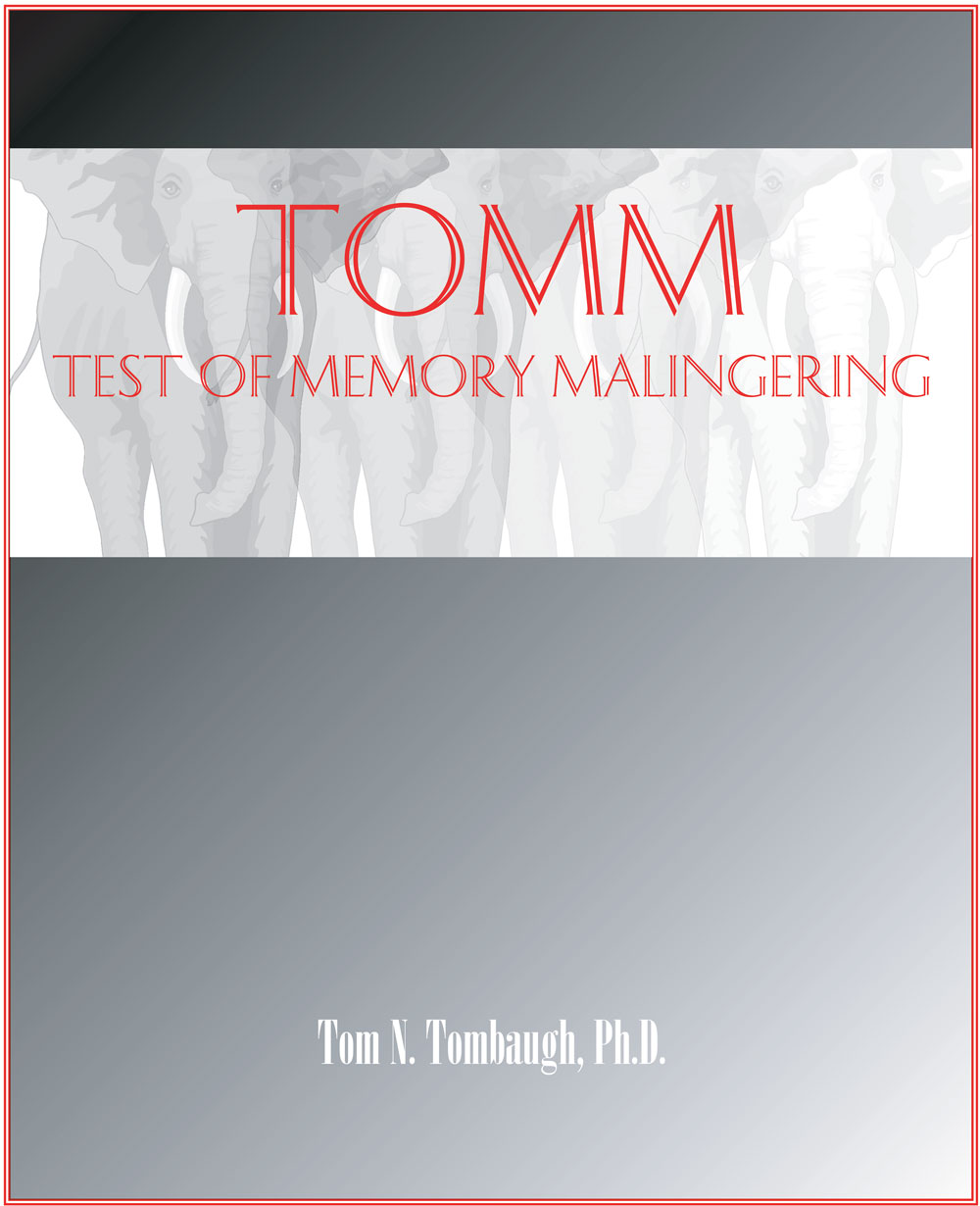 Test of Memory Malingering - TOMM