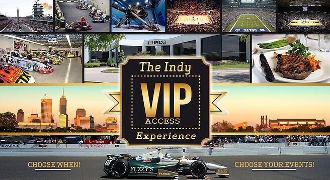 The VIP-Access Indy Experience Prize Packages