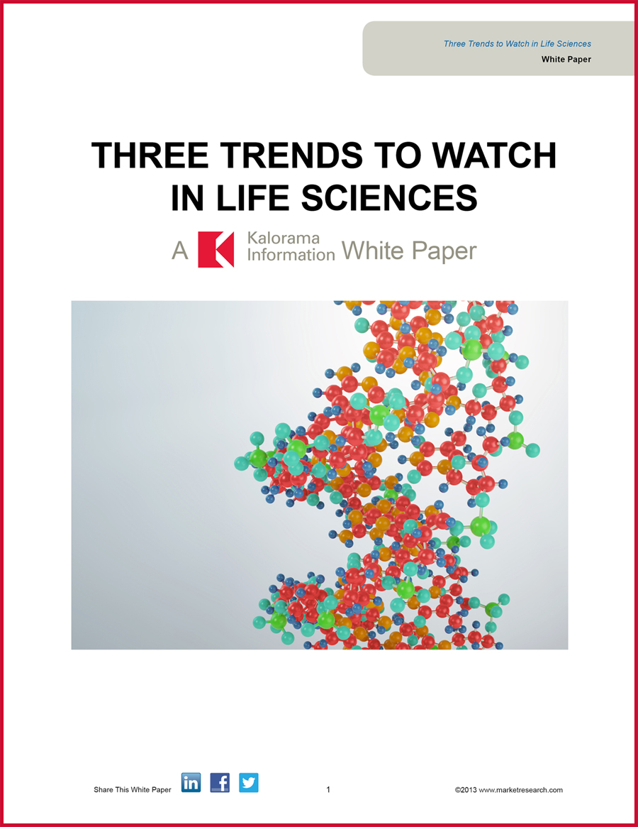In this whitepaper, discover three of the most important life sciences industry trends.