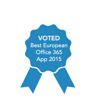 FlowForma Best Office 356 Add In Winner, voted by European SharePoint Conference Committee