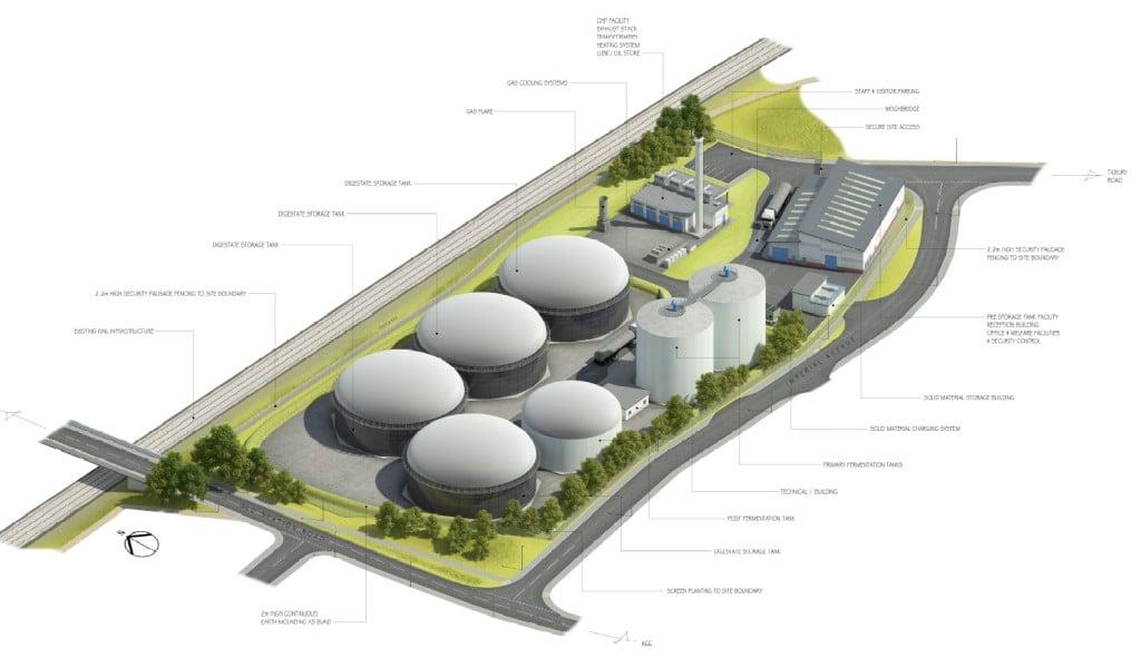 5MW biogas plant project bioconstruct