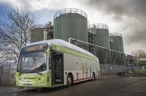 GENeco's Bio-Bus must refuel at the Bristol sewage works