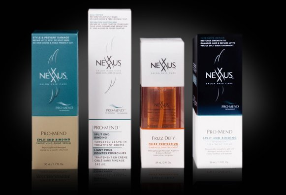 Nexxus Pro Mend and Frizz Defy