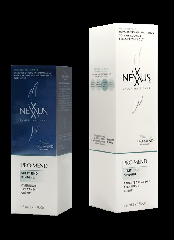 nexxus blue and white