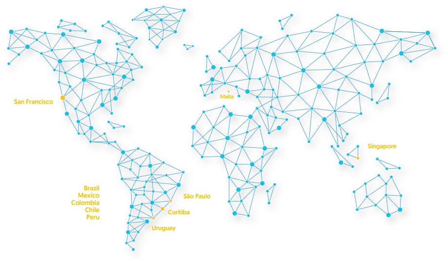 EBANX Around The World