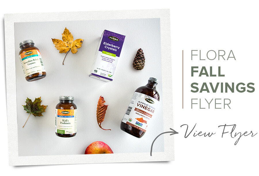 Flora Fall Flyer Sale