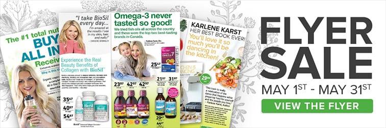 Natural Factors Flyer Sale