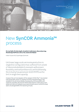 New SynCOR Ammonia™ process