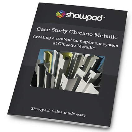 Chicago Metallic Case Study - Showpad for Manufacturing