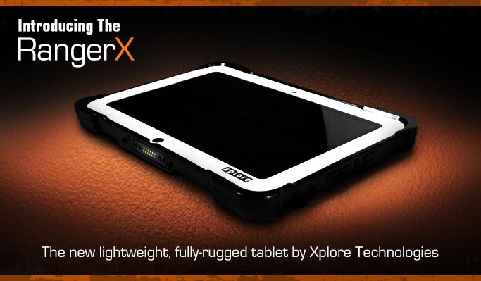 The Lightweight RangerX Rugged Android Tablet