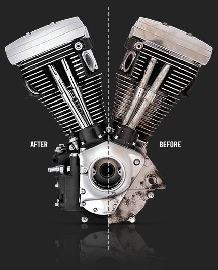 restore your bike's rumble with the hd remanufactured engines program