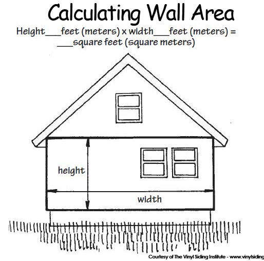 vinyl siding wall calculator